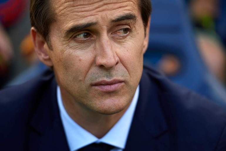 Real Madrid manager, Julen Lopetegui