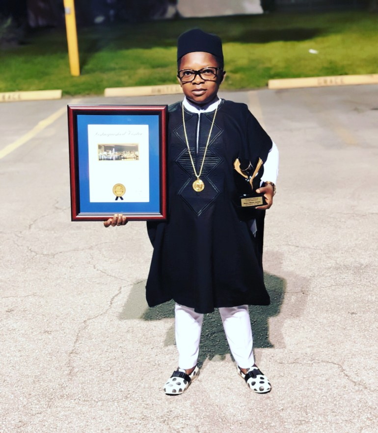 Chinedu Ikedieze honoured as a Distinguished Visitor to Miami-Dade County