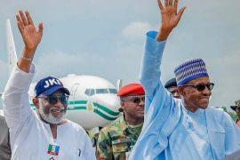 Buhari in Ekiti