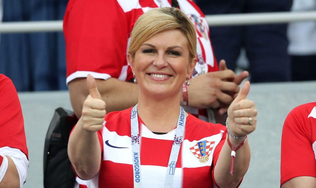Croatian President, Kolinada Grabar-Kitarovic
