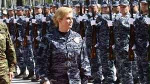 Croatian President, Kolinda Grabar-Kitarovic