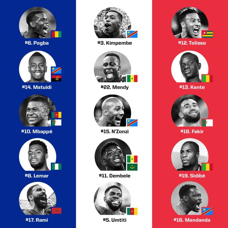 France's African Winners