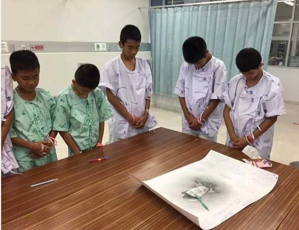 Rescued Thailand Boys