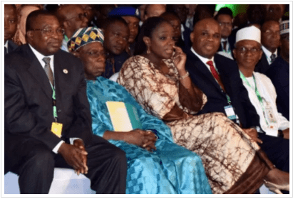Obasanjo at Afreximbank Meeting