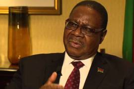 Malawian President, Peter Mutharika