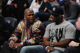 Floyd Mayweather and 50 Cent