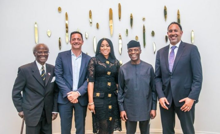 VIce President Osinbajo's visit to Hollywood
