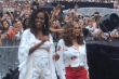 Michelle Obama at Jay-Z concert in France