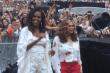 Michelle Obama at Jay-Z concert in France
