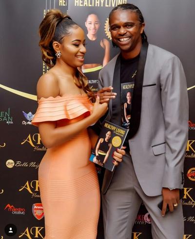 Kanu Nwankwo and wife, Amara