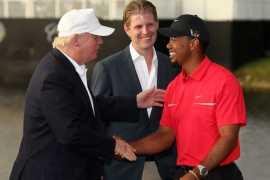 Donald Trump- Tiger Woods