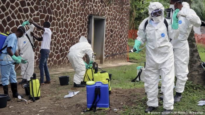 Congolese doctor infected with Ebola in high insecurity zone