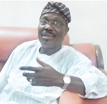 Moshood Salvador, ex PDP chairman in Lagos