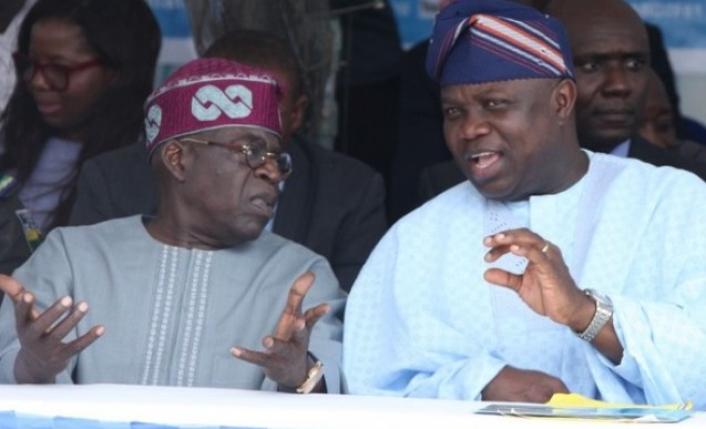 Image result for 'No rift between Tinubu and I' — Ambode breaks silence