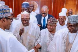 Buhari and Kwara delegation