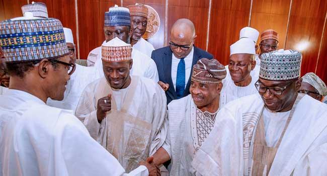 Buhari and Kwara delegation