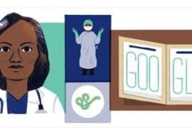 Dr Stella Adadevoh as Google Doodle