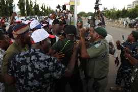 Police teargas Saraki, Melaye
