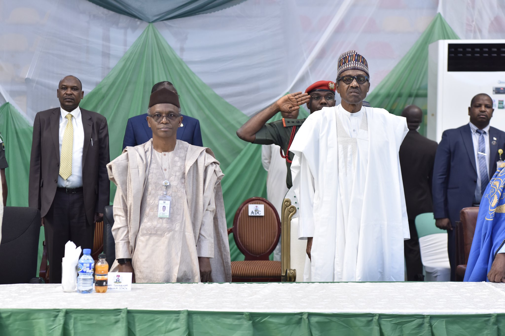 PMB Commissions The C'n'C Centre of Aerial Surveillance In Kaduna State