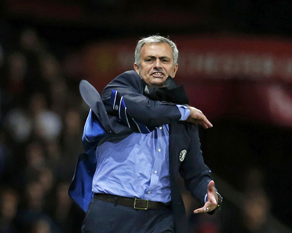 Jose Mourinho criticises Manchester United's heart and desire after Palace stalemate