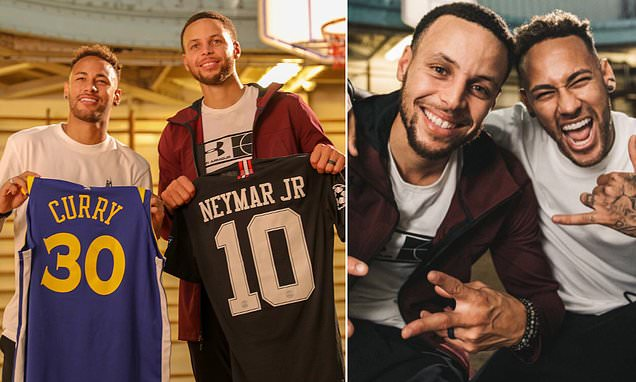Neymar and Steph Curry