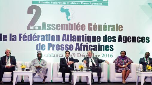 La FÈdÈration Atlantique des Agences de Presse Africaines (FAAPA) tient, jeudi (08/12/16) ‡ Casablanca, sa deuxiËme assemblÈe gÈnÈrale  AssemblÈe, gÈnÈrale, FAAPA, Casablanca