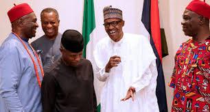 Buhari, Ekweremadu, Southeast governors