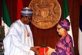 Buhari and Ama Pepple