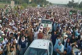 Pakistan protesters