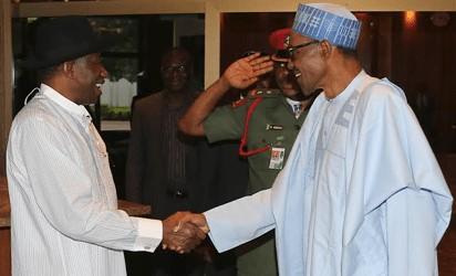 Goodluck Jonathan Celebrates Buhari at 76