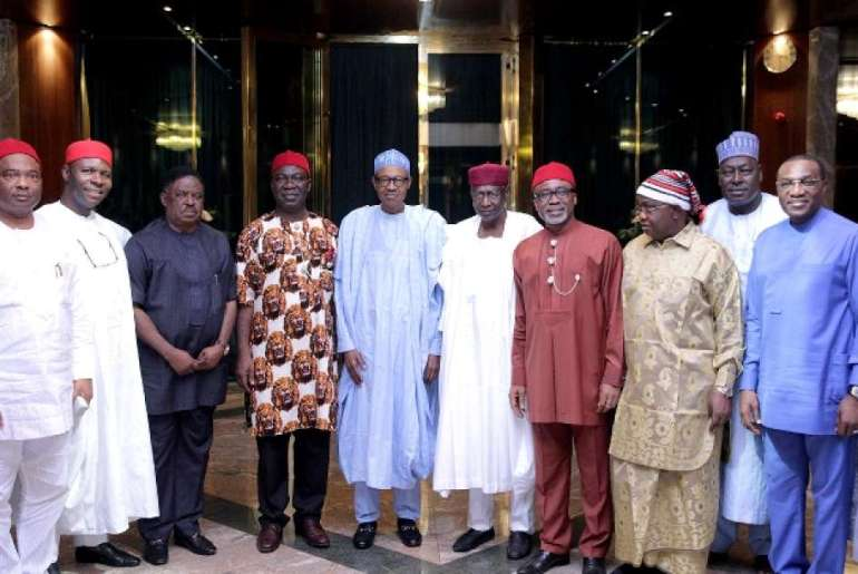 Buhari-and-other-senators