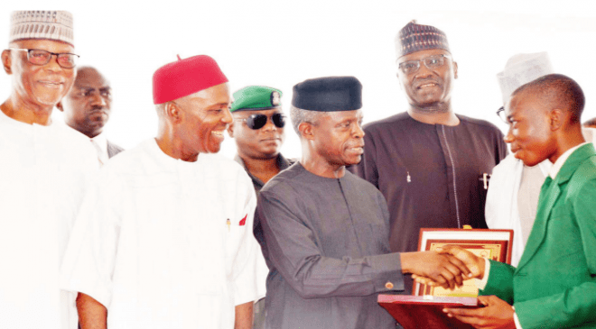 FG awards young scientists with scholarships