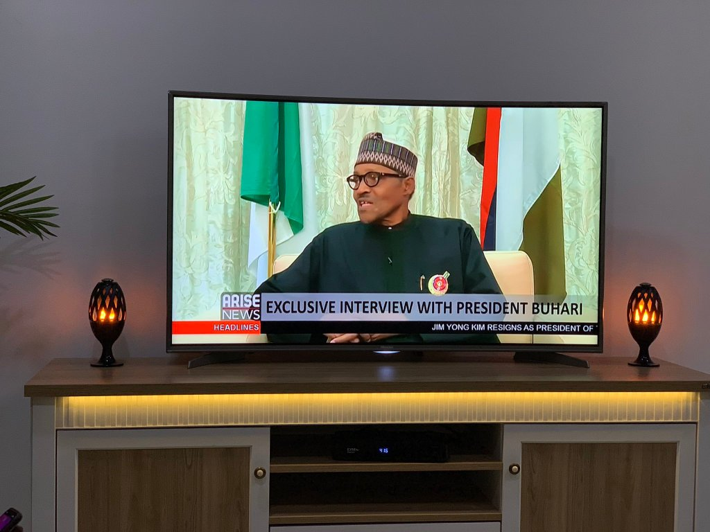 Buhari Arise Interview