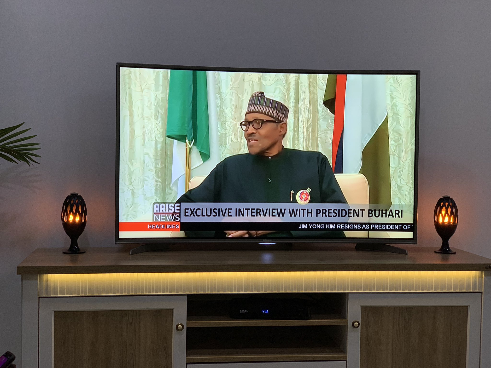 Image result for PDP Reacts To Buhari's Performance During Live Interview