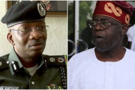 Kayode Egbetokun and Tinubu