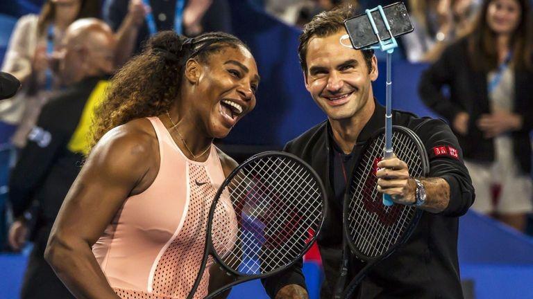 Roger Federer Defeats Serena Williams at Hopman Cup