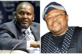 aliko dangote - mike adenuga