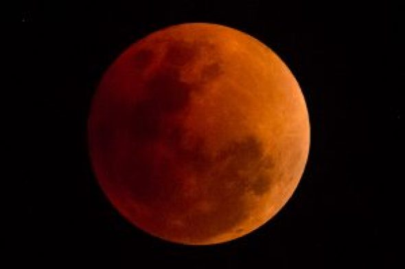 NASRDA predicts total lunar eclipse in Nigeria on Monday