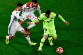FC Barcelona vs Olympique Lyonnais - UEFA Champions League