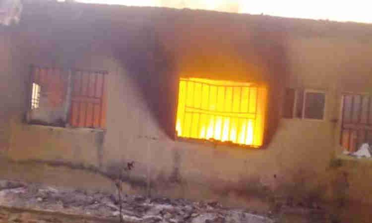 Fire-razes-INEC-office-in-Plateau