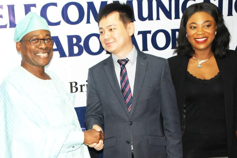 Huawei donates lab to Nigeria