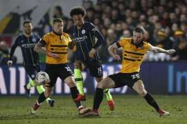 Manchester City vs Newport County - FA Cup