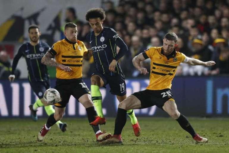 Manchester City vs Newport County - FA Cup