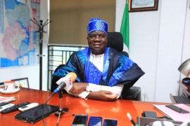 Nigerian High Commissioner to Ghana - Ambassador Michael Abikoye