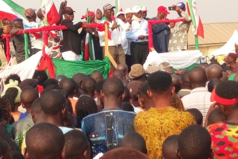 PDP Benue Rally