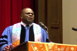 Pastor Franklyn Richardson, Senior Pastor of Grace Baptist Church, Mount Vernon, New York