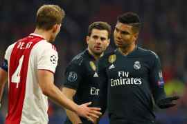 Real Madrid vs Ajax - UEFA Champions League