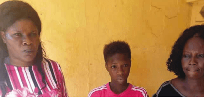 Screenshot_2019-02-20 Photo Police arrest mother, daughter for stealing, selling baby in Anambra