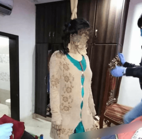 Husband hangs heavily pregnant wife after discovering she was having female child