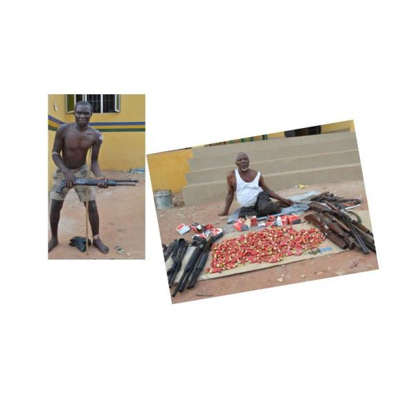 Police nab 80-year-old robbery kingpin in Delta, recover several rounds of live ammunition